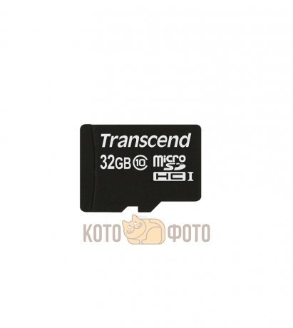 Карта памяти Transcend Micro SDHC Card 32GB Class 10 adapter