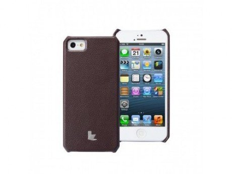 JisonCase Leater Case JS-IP5-001 BROWN iPhone5