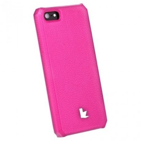 JisonCase Leater Case JS-IP5-001 PINK iPhone5