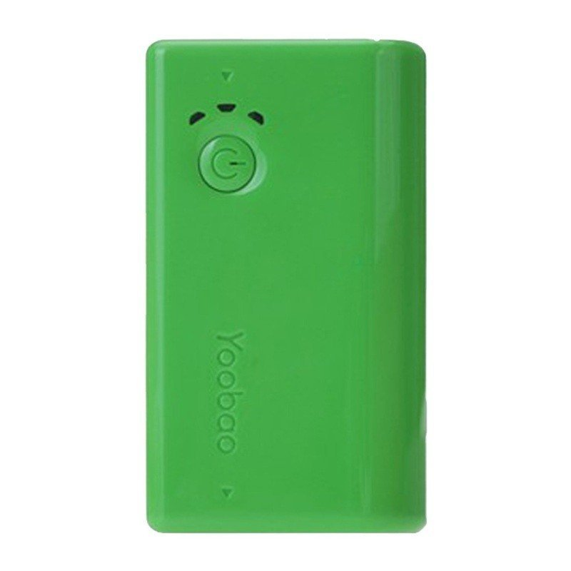 Внешний аккумулятор Yoobao Power Bank 2600 mAh green zdk q360 pink