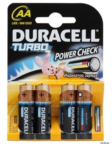 Duracell LR6-4BL Turbo (4шт)
