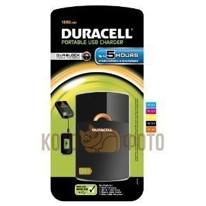 Фотография товара duracell USB portable charger, 5 hour, 1800mAh (16345)