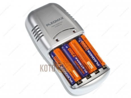 �������� ���������� Samsung Pleomax 1016 Power Chager Plus + 4*2300 mAh