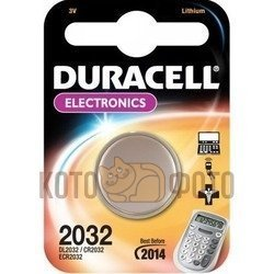 Duracell  CR2032 (1шт)Duracell<br><br>