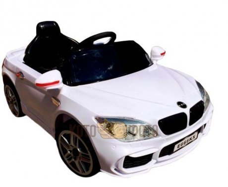 Электромобиль RiverToys BMW E666KX (белый)