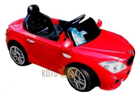Электромобиль RiverToys BMW E666KX (красный)