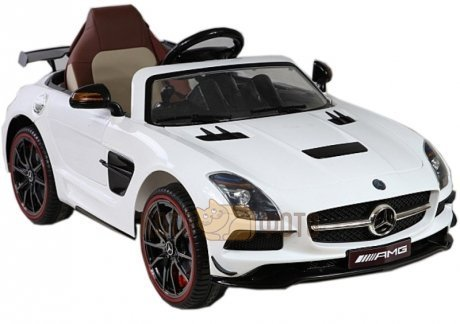 Электромобиль RiverToys Mercedes Benz SLS A333AA (белый)