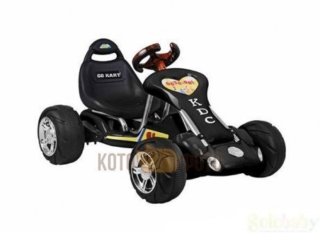 Электромобиль RiverToys Kart 6628 (черный)