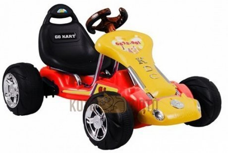 Электромобиль RiverToys Kart 6628