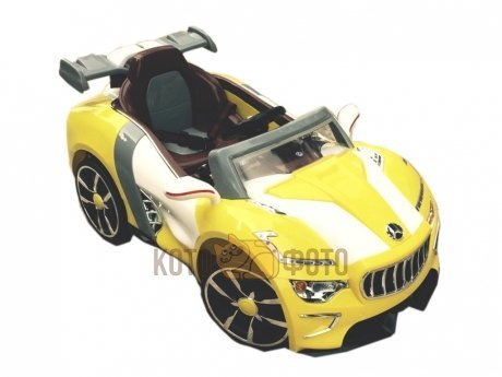 Электромобиль RiverToys Maserati A 222 AA (желтый)