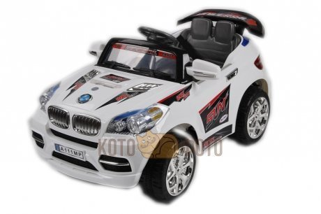 Электромобиль RiverToys BMW X8 8899 (белый)