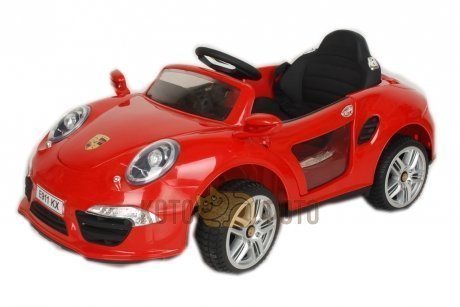 Электромобиль RiverToys Porshe E911KX (красный)
