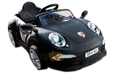 Электромобиль RiverToys Porshe E911KX (черный)