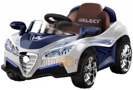 Электромобиль RiverToys Bugatti 5588 (белый)