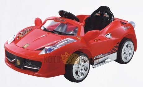 Электромобиль RiverToys Ferrari 8888 (красный)
