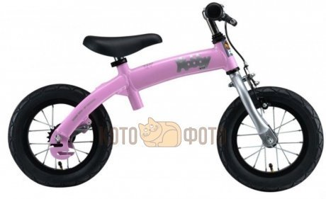 Велобалансир велосипед HobbY Bike RT original pink aluminium
