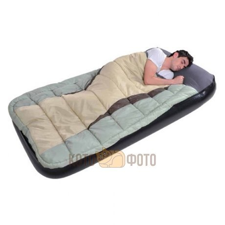 ������� �������� Relax JL027008N Comfort Sleeping Bag And Inflatabed Bed +�������� 190�99�25 �����