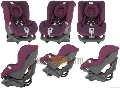 Автокресло Britax First Class plus Dark Grape Trendline
