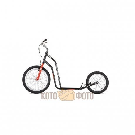 Самокат Yedoo Mezeq V-Brake (black red)