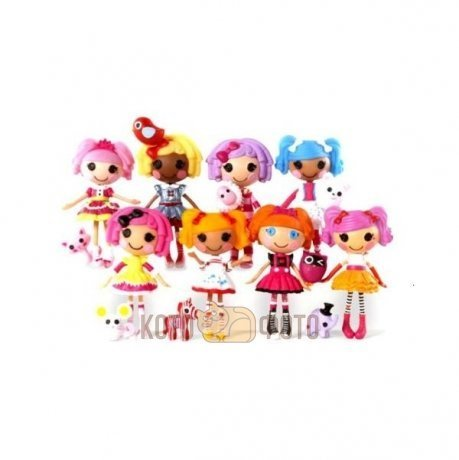 Кукла Lalaloopsy Mini, 8 в асс-те кукла lalaloopsy mini