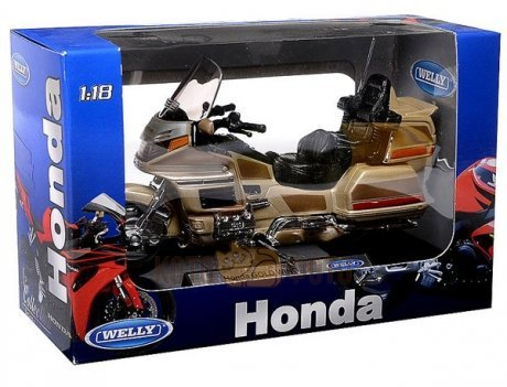 Модель мотоцикла Welly 1:18 Honda Gold Wing