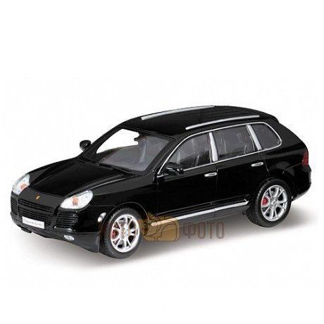 Модель машины Welly 1:18 Porsche Cayenne Turbo