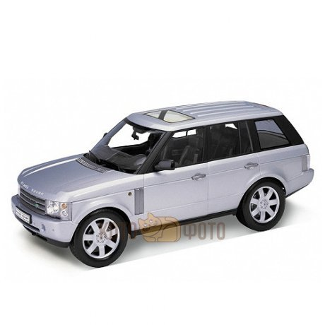 Модель машины Welly 1:18 Land Rover Range Rover.