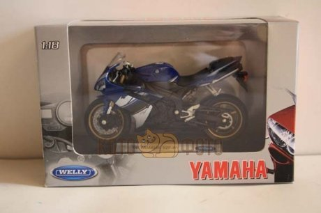Модель мотоцикла Welly 1:18 Yamaha YZF-R1