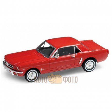 Модель машины Welly 1:24 Ford Mustang 1964 от Kotofoto