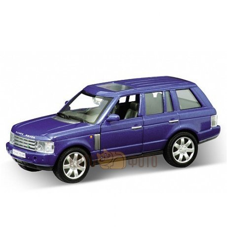 Модель машины Welly 1:33 Land Rover Range Rover