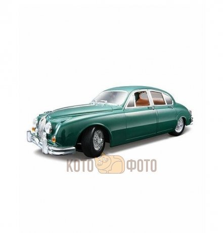 Машинка Bburago 1:18 Jaguar mark II (1959) металл.