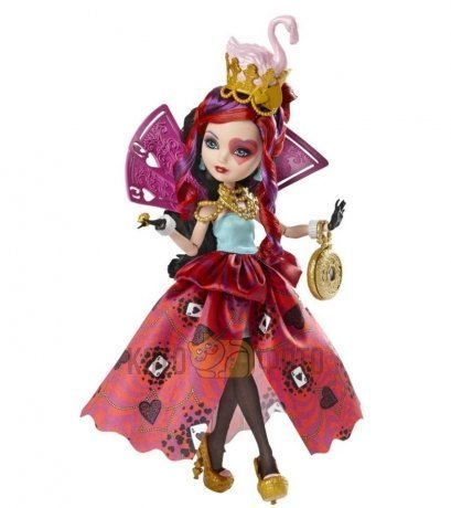 Кукла Mattel Ever after high cерия Страна чудес Lizzie Hearts