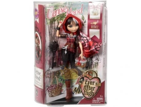 Кукла Mattel Ever After High Ребель базовая Чериз Худ