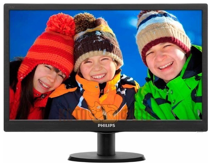 Монитор Philips 18.5 193V5LSB2/10 черный монитор жк philips 243v5qsba 01