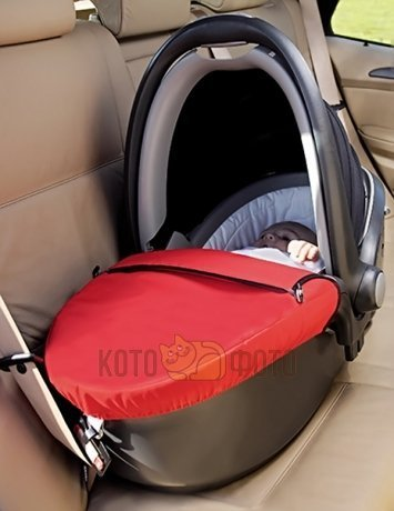 Автокресло детское Romer Baby-safe Sleeper Chili Pepper