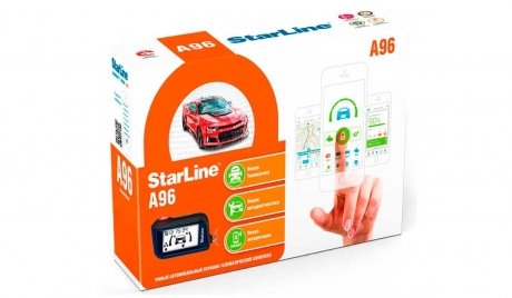 Фотография товара автосигнализация STARLINE A96  2CAN-2LIN GSM/GPS (2-way/автозапуск) (131536)