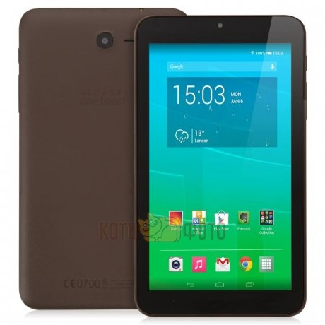Планшет Alcatel Pixi 7 3G Chocolate