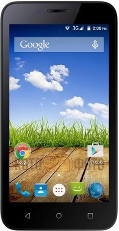 Смартфон Micromax Bolt Q379 Yellow смартфон micromax bolt q346 lite 3g 8gb blue