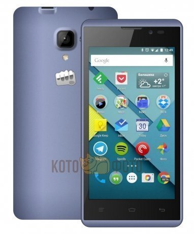Смартфон Micromax Bolt D333 Blue