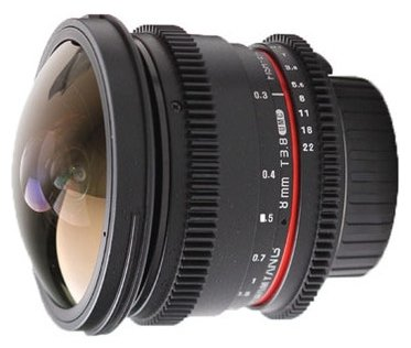 Объектив Samyang MF 8mm T3.8 AS IF UMC Fish-eye CS II VDSLR Nikon