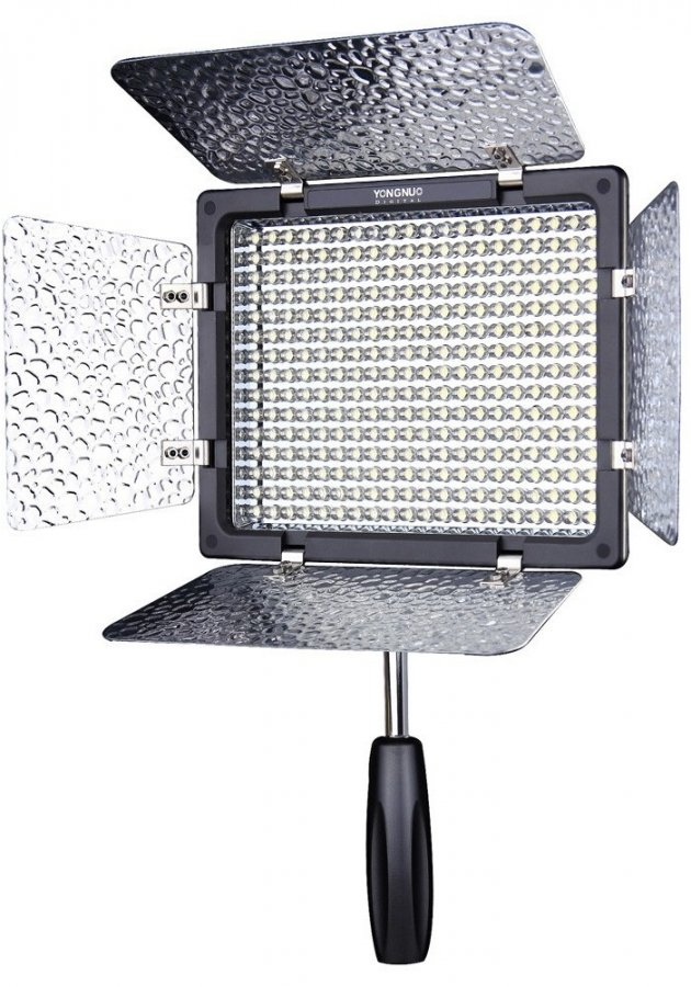 Осветитель YongNuo LED YN-300 III 3200-5500K YN300III3255 осветитель greenbean ultrapanel 576 led