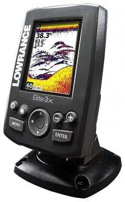 Эхолот Lowrance Elite-3X All-Season Fishfinder Pack (83/200)
