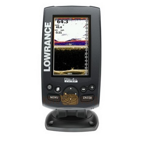 Эхолот Lowrance Elite-4X CHIRP (83/200+455/800)