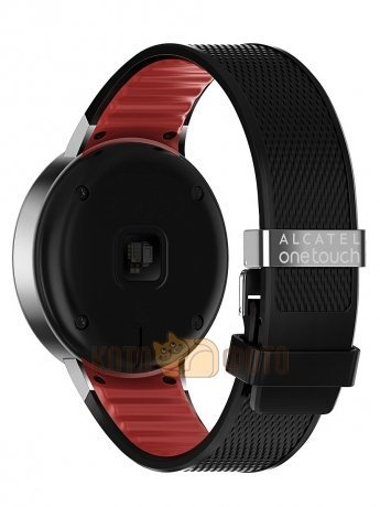 Умные часы Alcatel Onetouсh Watch SM02 Black Red