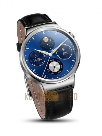 Умные часы Huawei Watch Classic Leather Silver