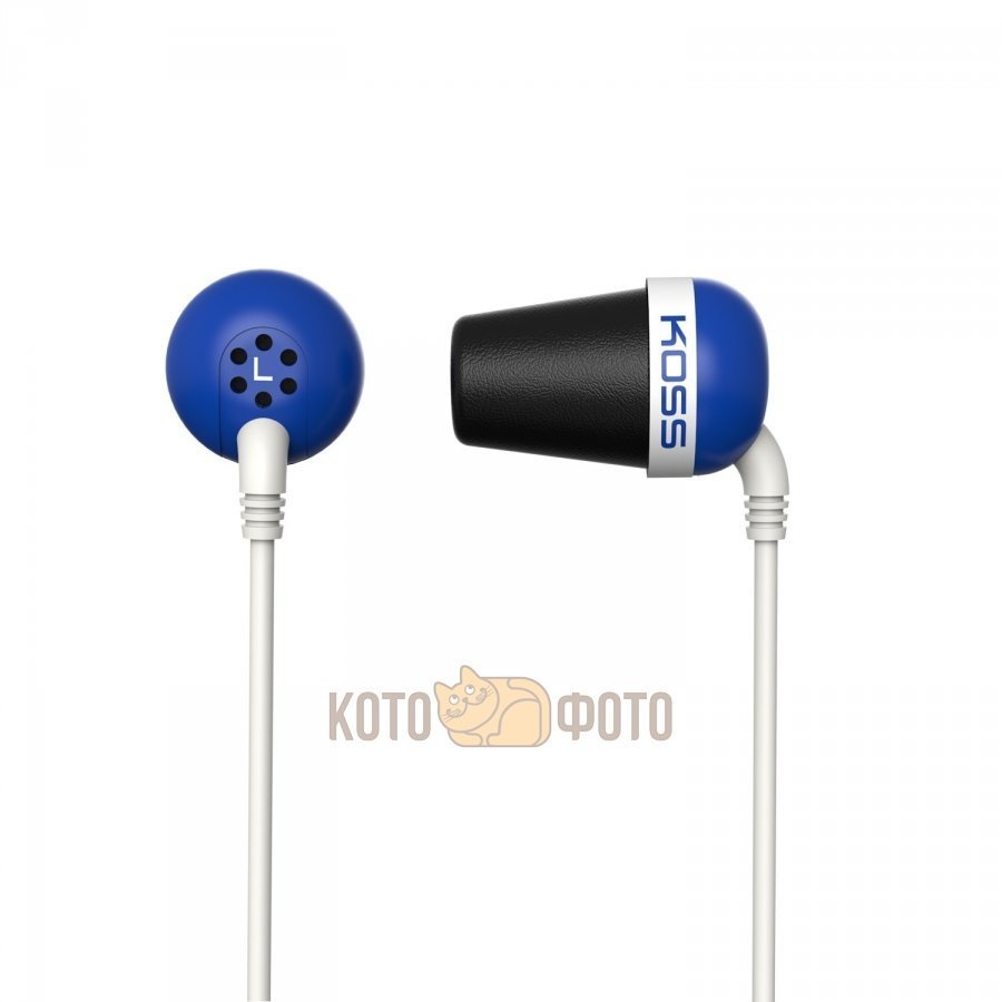 Наушники Koss The Plug Blue koss ke 7