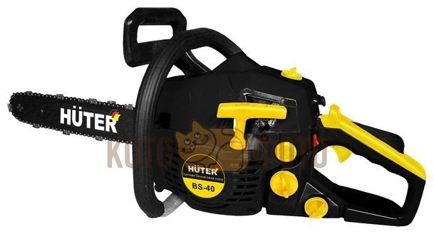 Бензопила Huter BS-40 бензопила huter bs 40 black yellow
