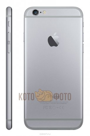 Смартфон Apple iPhone 6 16GB Space Gray (MG472RU/A)