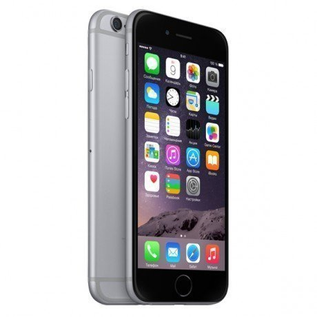 Смартфон Apple iPhone 6 16GB Space Gray MG472RU|A