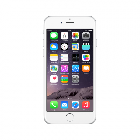 Смартфон Apple iPhone 6 16GB Silver (MG482RU/A)